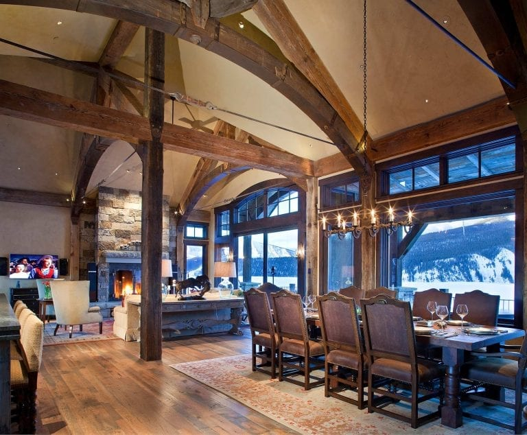 Bull and Bear Living and Dining Room