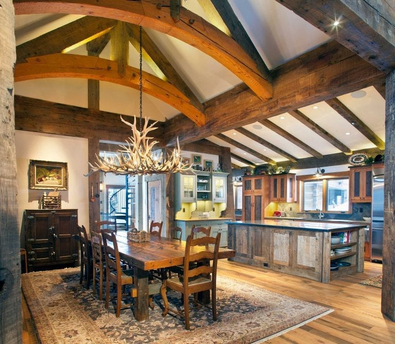 Mountain Home Dining Room